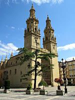 España; Spain; Espagne; La Rioja; ; Camino de Santiago; camino Francés; pèlerinage de Saint-Jacques-de-Compostelle; Patrimonio de la Humanidad; World Heritage Site; Patrimoine mondial; Logroño; iglesia