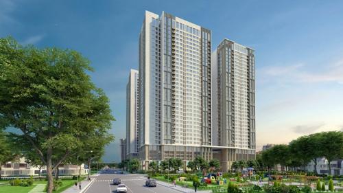 Phối cảnh dự án Eco Green City Nguyễn Xiển