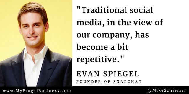 Evan Spiegel Quote