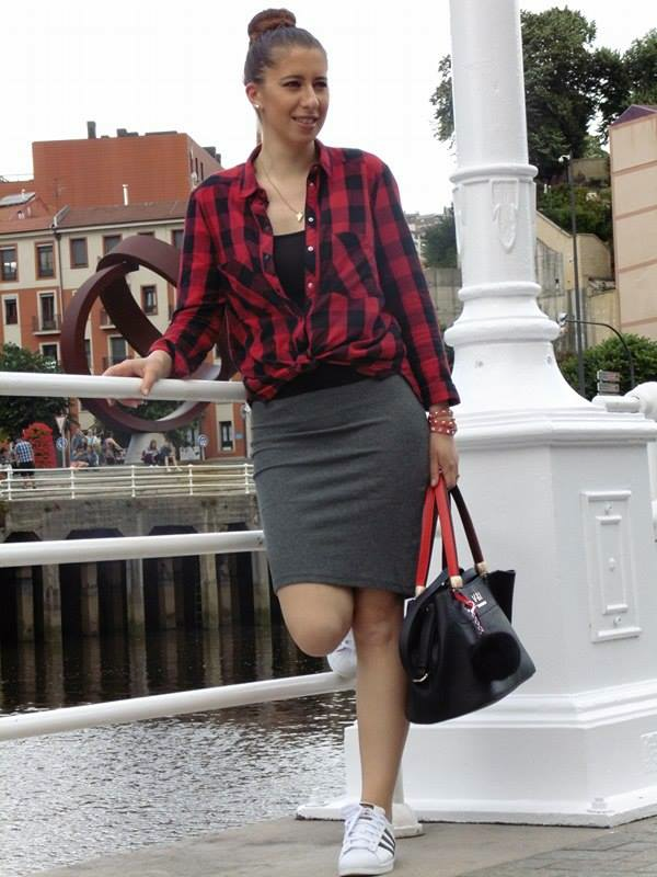 Zapatillas Outfit Falda Andreea Alli Tubo Y a6UqXw