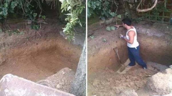 Lelaki Ini Selalu Ditertawakan Kerana Menggali Tanah di Halaman Rumahnya Setiap Hari. Lepas Gali, dia Akan Timbus Balik. Begitulah Rutin Dia Setiap Hari. Tapi Setahun Kemudian Semua Orang yang Ketawakan dia tu Akhirnya Gigit Jari. Rupa-rupanya Selama setahun tu Lelaki ini Telah..