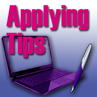 applying for jobs, applying online, answering assessment test questions,