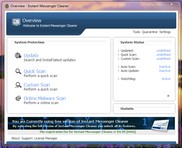 How to Remove Virus From MSN Messenger, Yahoo Messenger, and