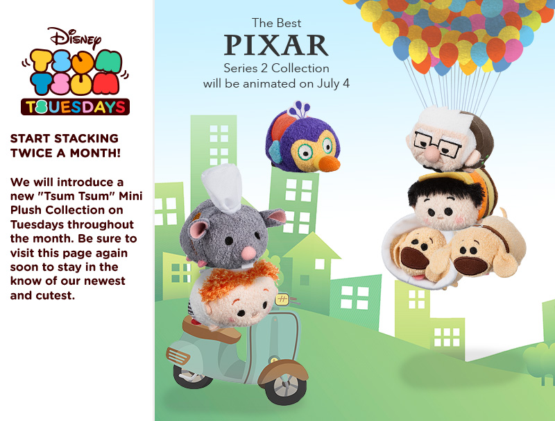 best of pixar tsum tsum series 2