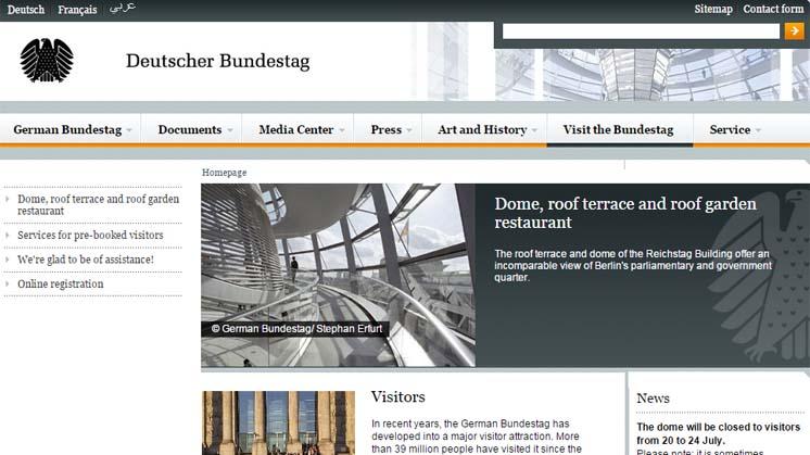 cómo subir a la cúpula del bundestag de Berlin