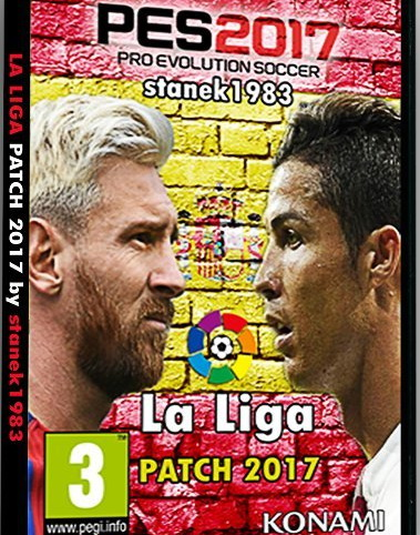PES 2017 LaLiga Patch 3.50 AIO by stanek1983