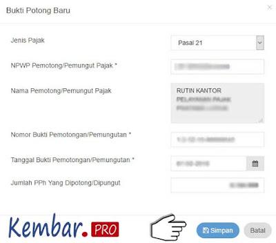 DJP Online ~ Cara Lapor SPT Pajak Dengan eFiling 2016