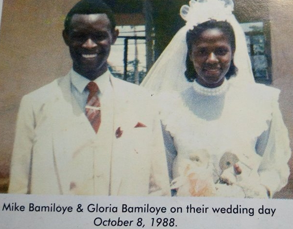 mike gloria bamiloye wedding pictures