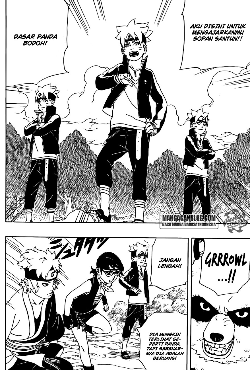 Komik Boruto  Chapter 1 Bahasa Indonesia