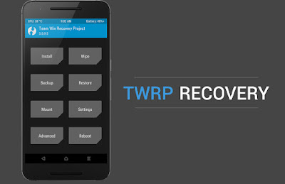 Install custom recovery TWRP with Odin for all android devices