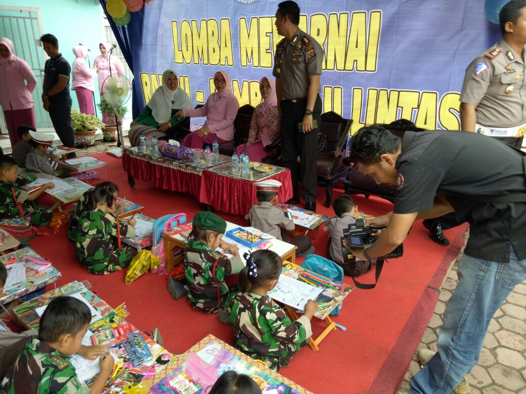 150 Anak Tingkat TK Sekabupaten Aceh Tamiang Ikuti Ajang