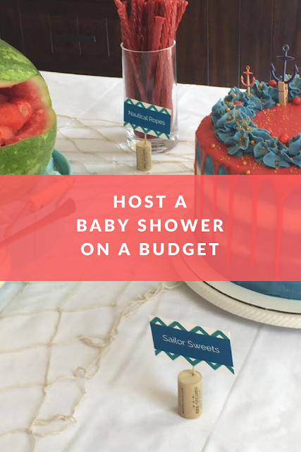 it can be hard to feel like a fabulous party planner when you are ballin on a budget i helped host my soon to be sister in laws baby shower