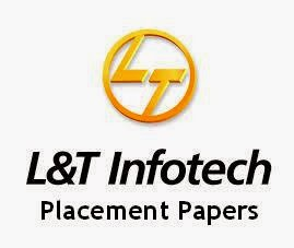 L And T Infotech Placement Papers 2014 Pdf