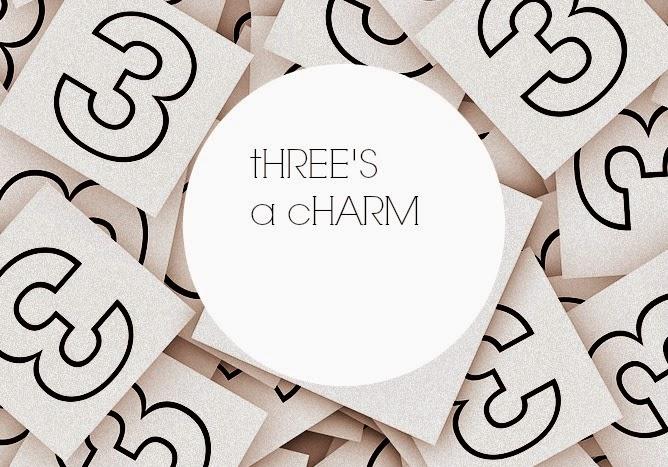 Threes A Charm