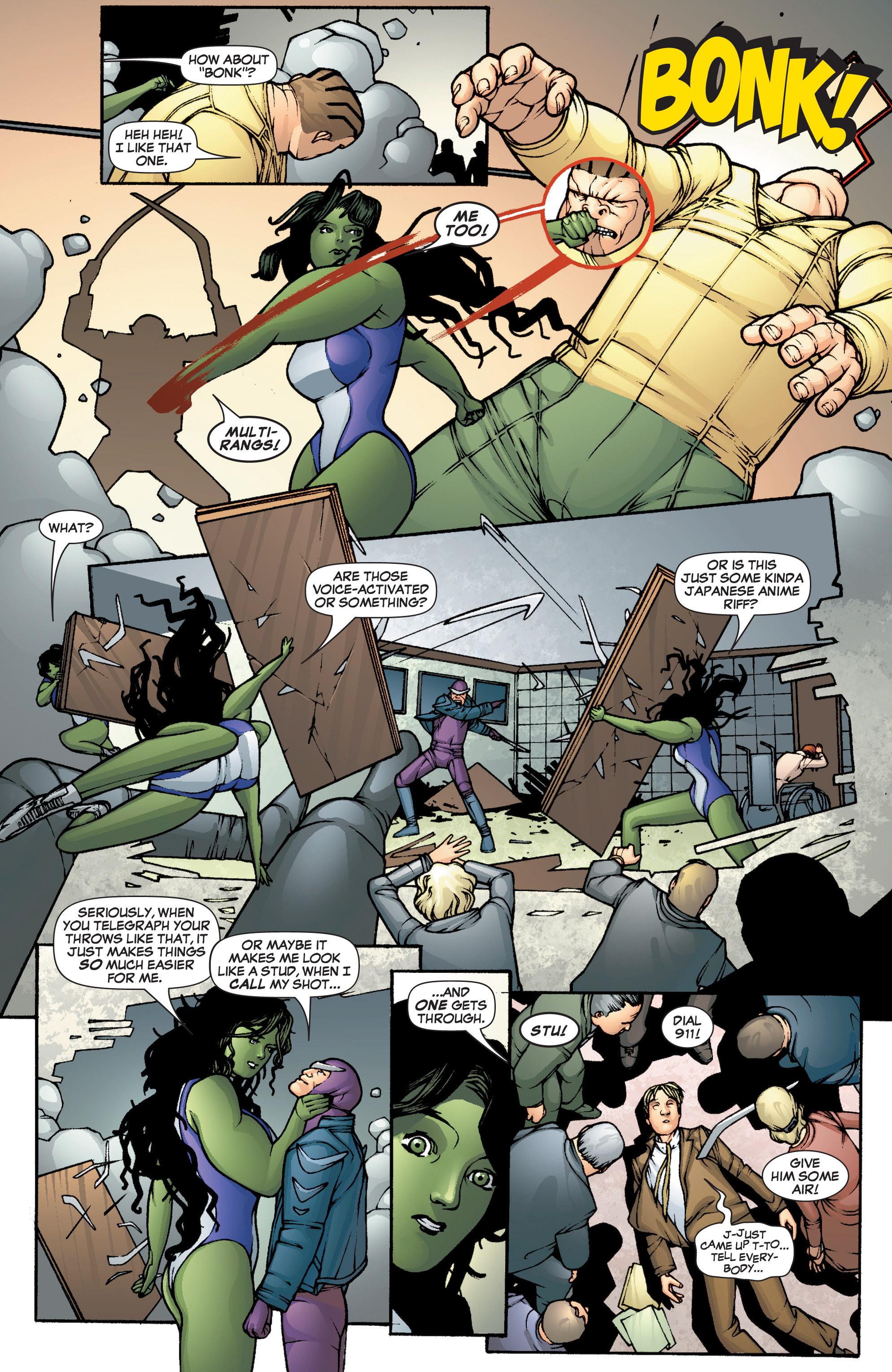Read online She-Hulk (2005) comic -  Issue #1 - 14