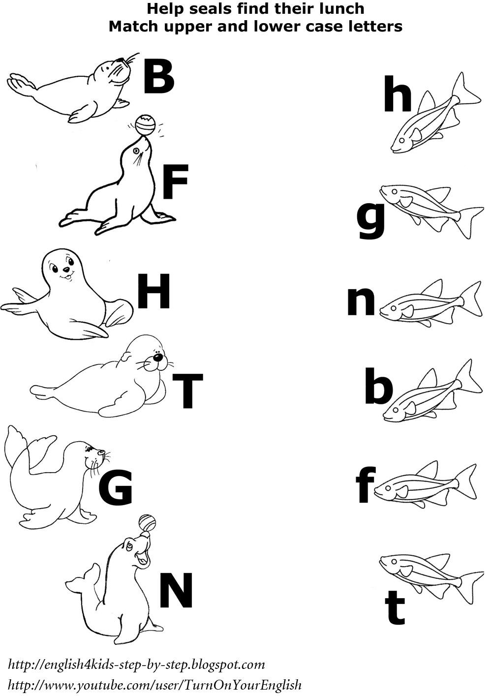 preschool arctic animals worksheet activities : Delreece's