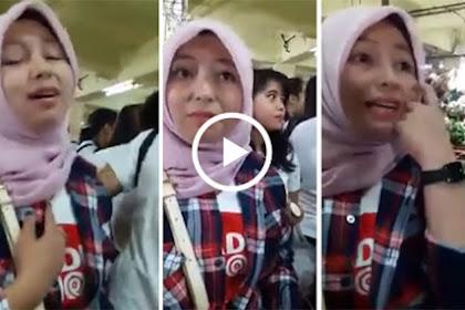 Video Wanita Pendukung Ahok Pakai Kerudung, Ditanya Rukun Iman dan Islam Malah Bingung