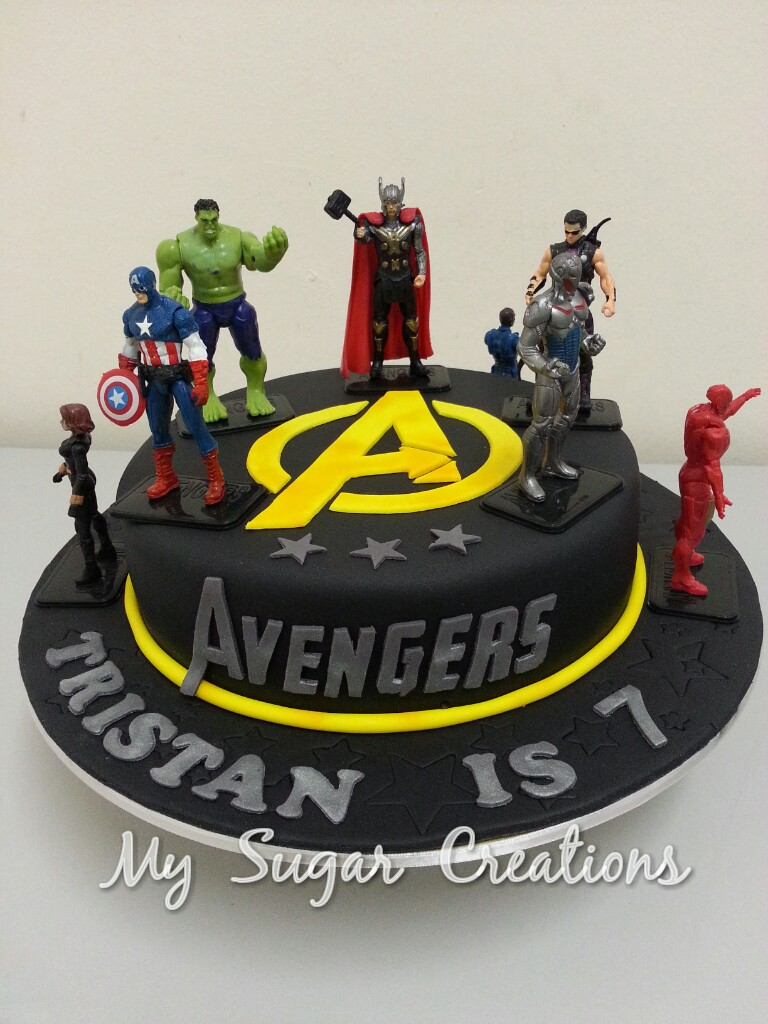 My Sugar Creations (001943746-M): The Avengers Cake