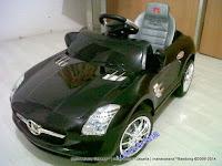 Mobil Mainan Aki Junior QX7997 Mercedes-Benz SLS Lisensi