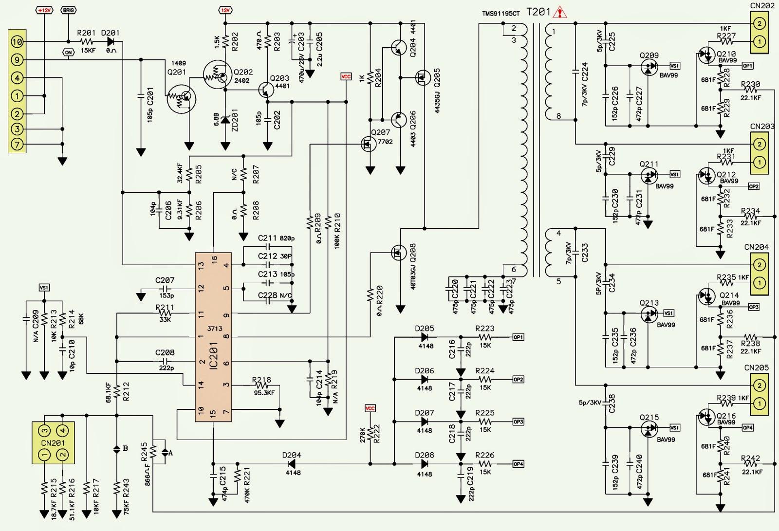 toshiba tv wiring diagrams circuit diagram maker [ 1600 x 1091 Pixel ]