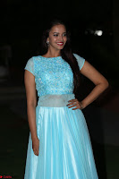 Pujita Ponnada in transparent sky blue dress at Darshakudu pre release ~  Exclusive Celebrities Galleries 125.JPG