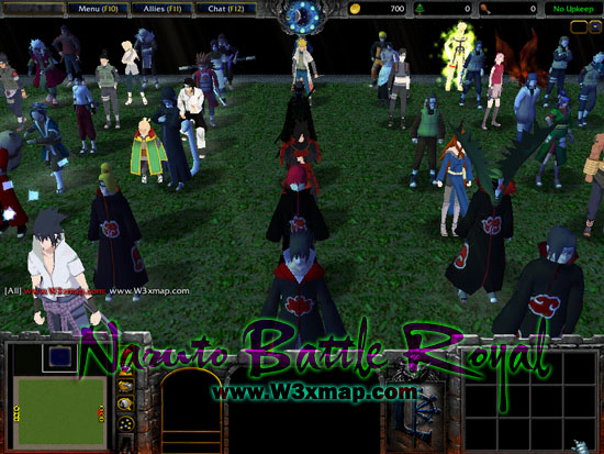 2vns. Com naruto battle royal v6. 25. W3x warcraft 3 map | warcraft 3.