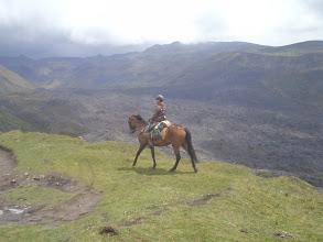 ratsastus vuorilla riitta reissaa