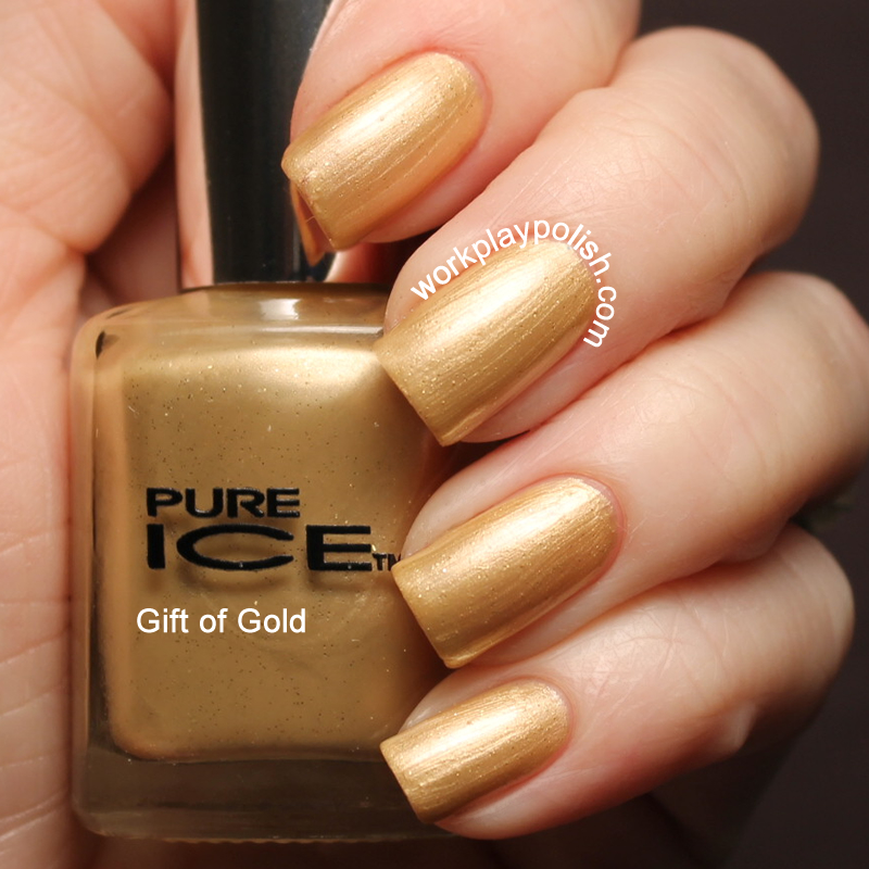 Pure Ice Gift of Gold Swatch