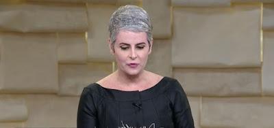 Fernanda Young participou do programa Saia Justa; a atriz foi vítima de uma crise de asma