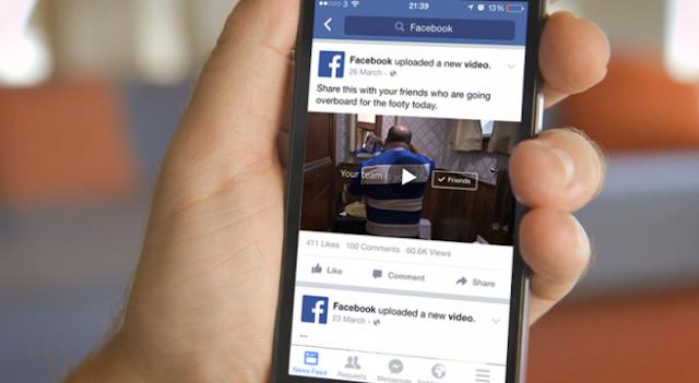 Vídeos de Facebook