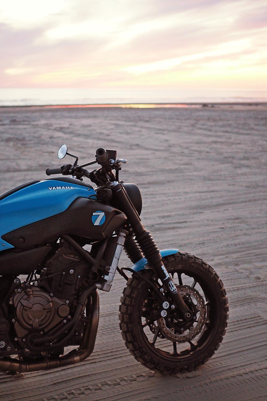 """Racing Cafè: Yamaha MT """"Super 7"""" by JvB-Moto"""