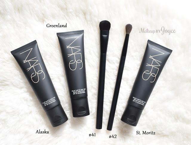 Nars Velvet Matte Skin Tint St. Moritz Alaska Groenland Brush Haul Review