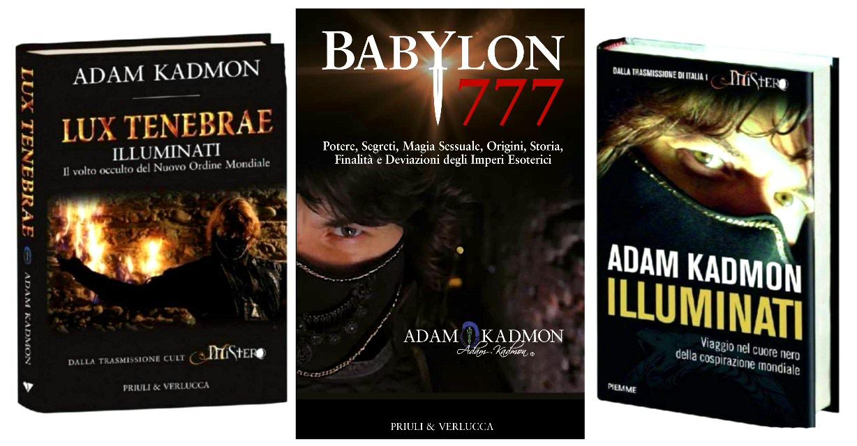 libri di adam kadmon