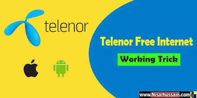 Telenor Free Internet Trick