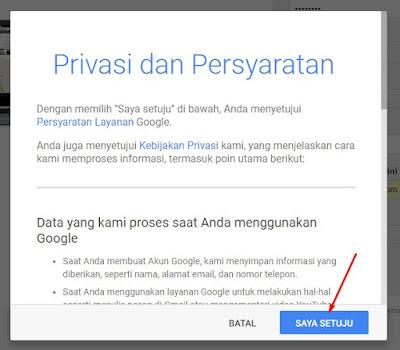 Privasi & Persyaratan