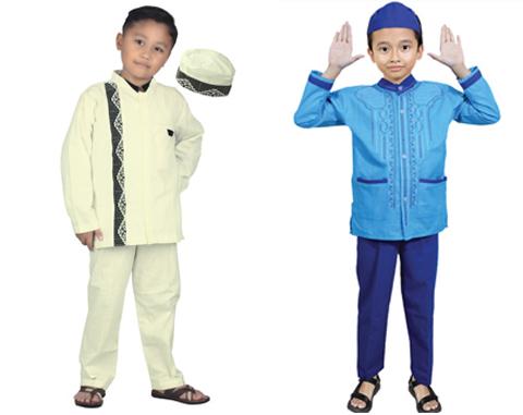 model baju koko anak laki laki terbaru