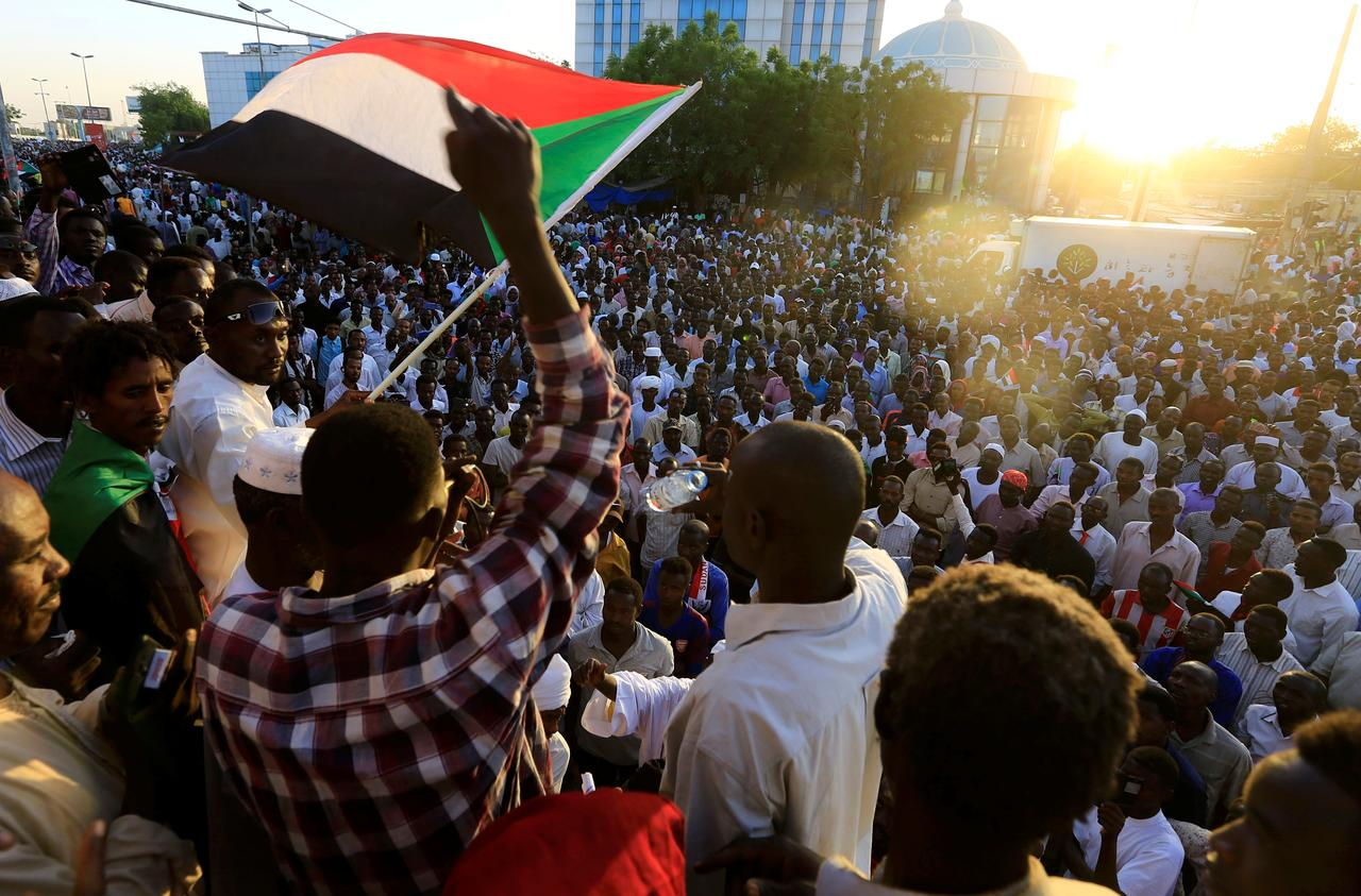 Response of Sudan protester's about Saudi Arabia and UAE Aids