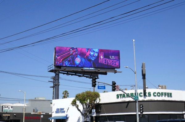 Mr Inbetween TV billboard
