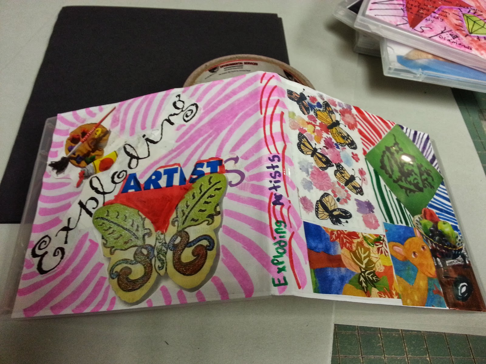 Artsy Girl Crafty World: Album covers