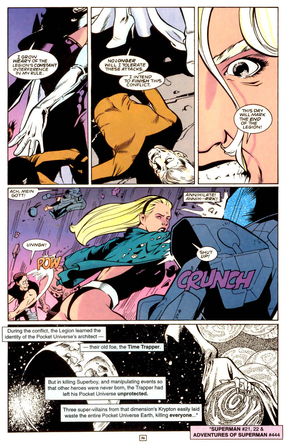 Legion of Super-Heroes (1989) 53 Page 14