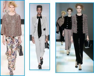 collezione moda donna autunno inverno 2016/17 giorgio armani