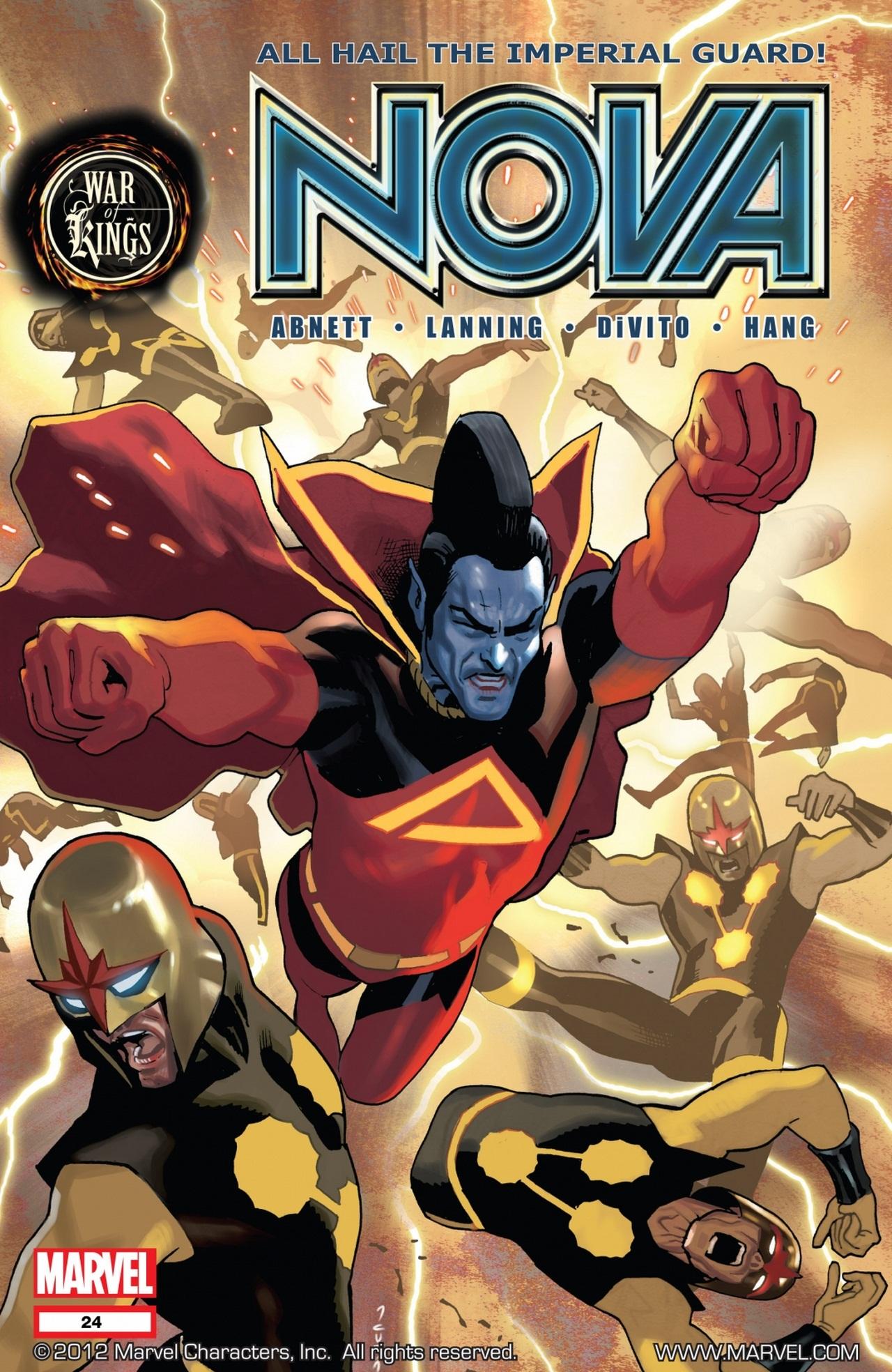 Nova (2007) issue 24 - Page 1