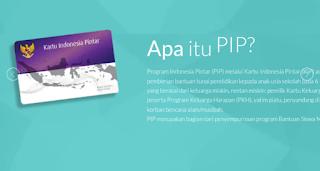 Besaran bantuan PIP