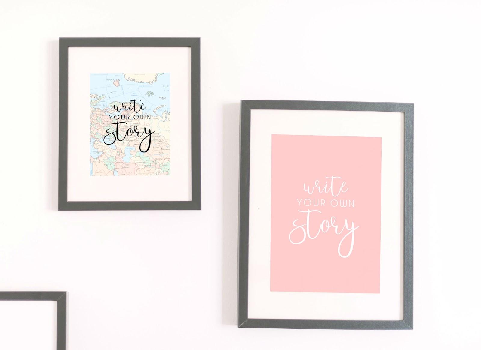 láminas, decoración, cuadros, escritores