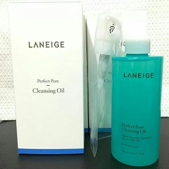 harga dan manfaat laneige perfect pore cleansing oil