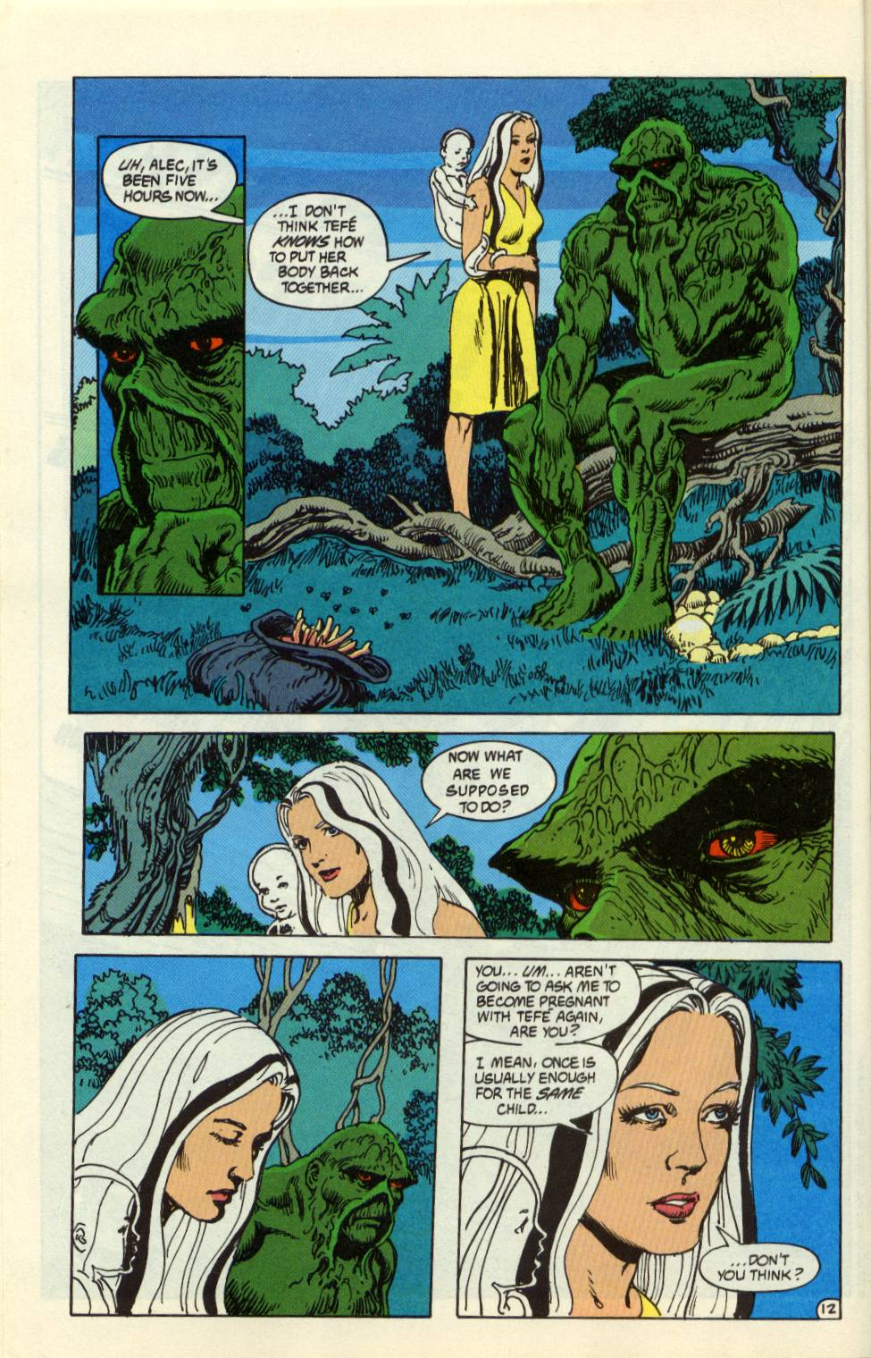 Swamp Thing (1982) Issue #99 #107 - English 13