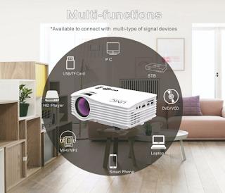 proiettore wifi mini uc36