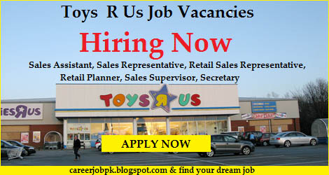 Toys R Us Jobs Vacancy in Dubai Uae