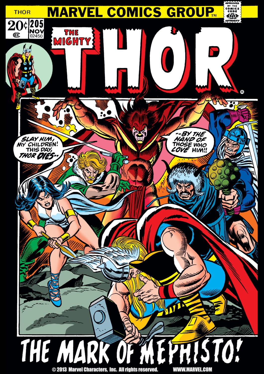 Thor (1966) 205 Page 1