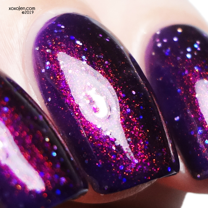 xoxoJen's swatch of Glam Polish Finite Incantatem